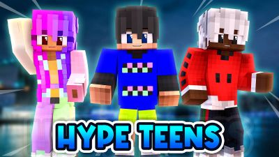Hype Teens on the Minecraft Marketplace by BLOCKLAB Studios