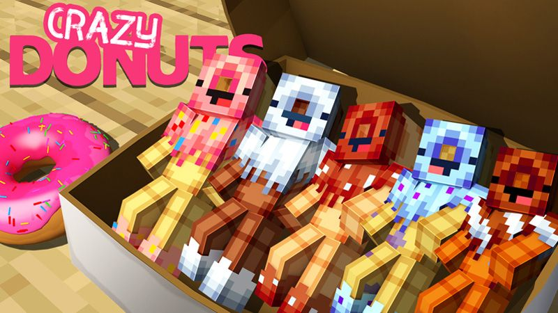 Crazy Donuts on the Minecraft Marketplace by Odyssey Builds