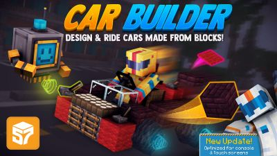 Car Builder on the Minecraft Marketplace by 57Digital