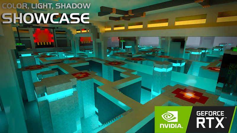 Color Light and Shadow RTX on the Minecraft Marketplace by Nvidia