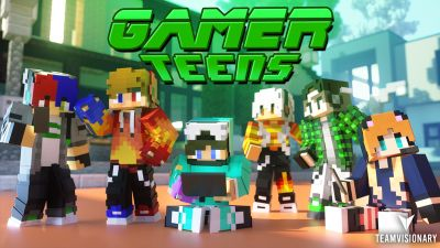Gamer Teens on the Minecraft Marketplace by Team Visionary