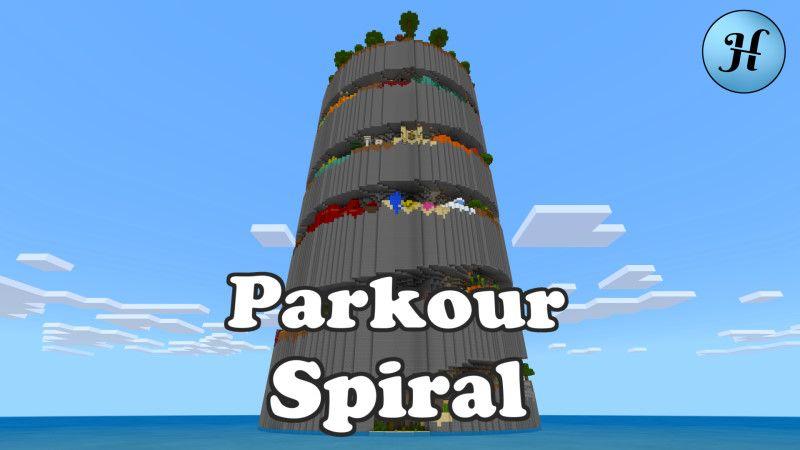 Parkour Spiral on the Minecraft Marketplace by Hielke Maps