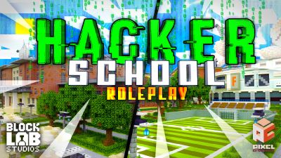 Hacker School  Roleplay on the Minecraft Marketplace by BLOCKLAB Studios