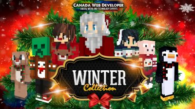 Winter Skins Collection on the Minecraft Marketplace by CanadaWebDeveloper