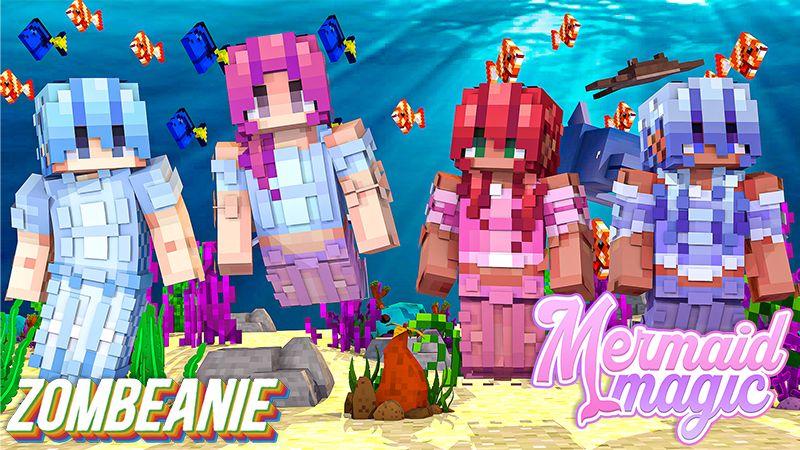 Mermaid Magic on the Minecraft Marketplace by Zombeanie