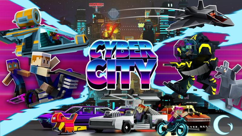 Cyber City on the Minecraft Marketplace by Cynosia