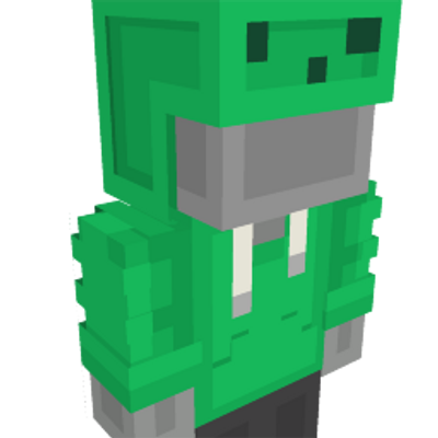 Bouncing Slime Hoodie on the Minecraft Marketplace by Geeky Pixels