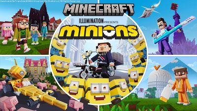 Minions on the Minecraft Marketplace by Cyclone