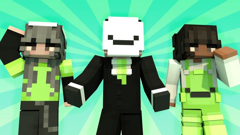 Green Smiles on the Minecraft Marketplace by Asiago Bagels