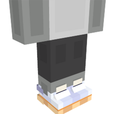 White Sneakers on the Minecraft Marketplace by Pathway Studios