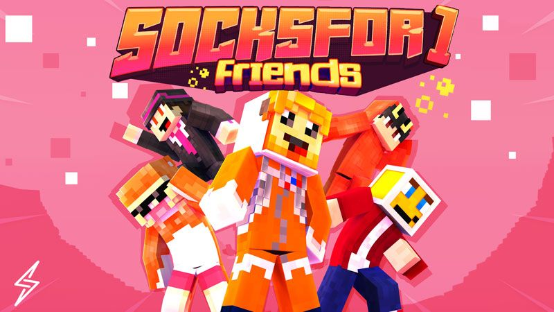 Socksfor1 Friends on the Minecraft Marketplace by Senior Studios