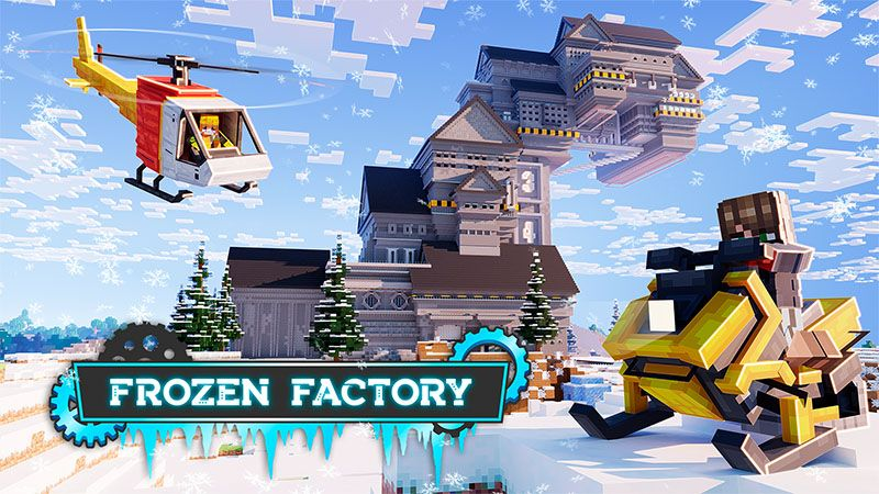Frozen Factory on the Minecraft Marketplace by Odyssey Builds