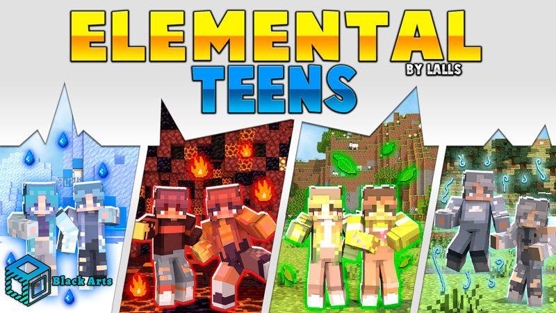 Elemental Teens on the Minecraft Marketplace by Black Arts Studios