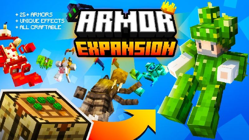 Armor Expansion on the Minecraft Marketplace by Kubo Studios