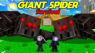 Giant Spider Survival on the Minecraft Marketplace by BLOCKLAB Studios