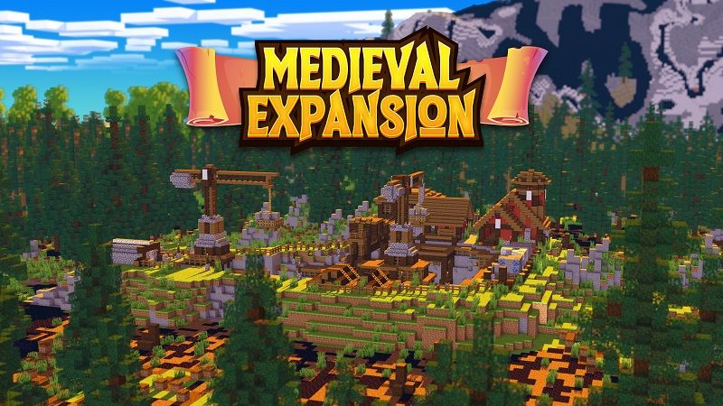 Medieval Expansion on the Minecraft Marketplace by Nitric Concepts