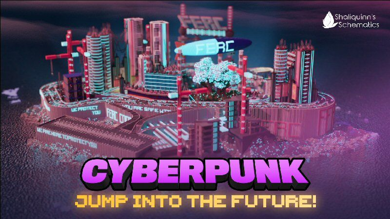 Cyberpunk on the Minecraft Marketplace by Shaliquinn's Schematics