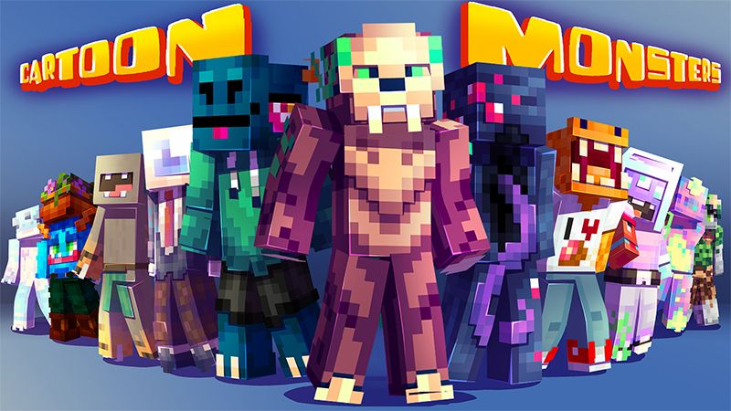 Cartoon Monsters on the Minecraft Marketplace by Hourglass Studios