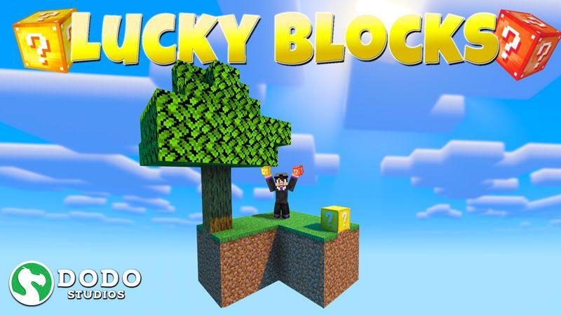 Lucky Blocks Skyblock on the Minecraft Marketplace by Dodo Studios