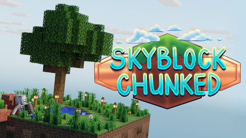Skyblock Chunked on the Minecraft Marketplace by BTWN Creations