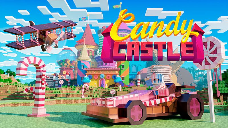 Candy Castle on the Minecraft Marketplace by Odyssey Builds