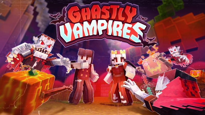 Ghastly Vampires on the Minecraft Marketplace by CubeCraft Games