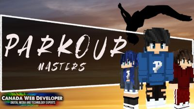 Parkour Masters on the Minecraft Marketplace by CanadaWebDeveloper