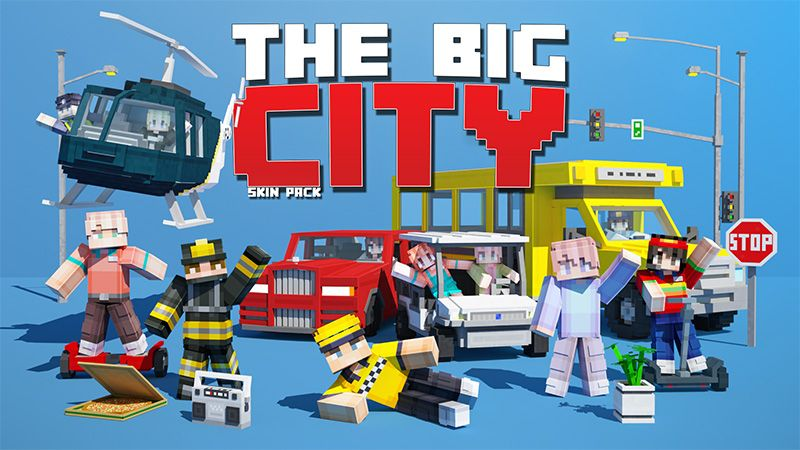 The Big City on the Minecraft Marketplace by Aurrora Skins
