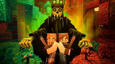 The Nether Escape on the Minecraft Marketplace by Mythicus