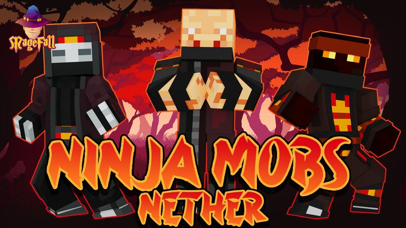 Ninja Mobs Nether on the Minecraft Marketplace by Magefall