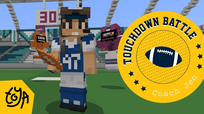 Touchdown Battle on the Minecraft Marketplace by Toya