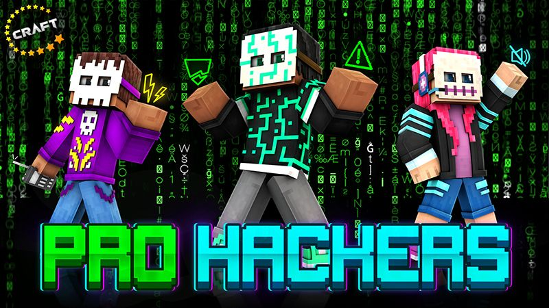 Pro Hackers on the Minecraft Marketplace by The Craft Stars
