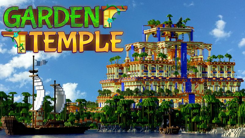 Garden Temple on the Minecraft Marketplace by BTWN Creations