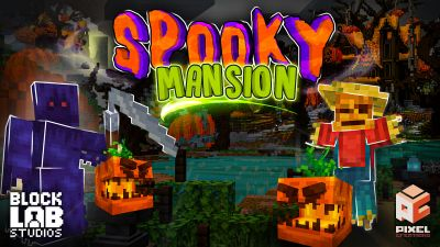 Spooky Mansion on the Minecraft Marketplace by BLOCKLAB Studios