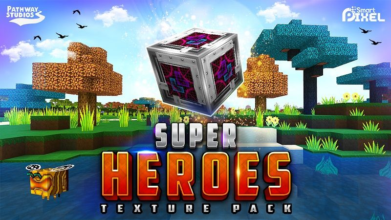 Super Heroes Texture Pack on the Minecraft Marketplace by Pathway Studios