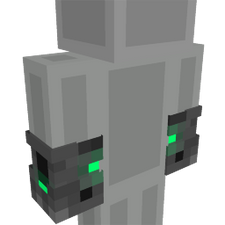 Cyber Gloves on the Minecraft Marketplace by Cleverlike