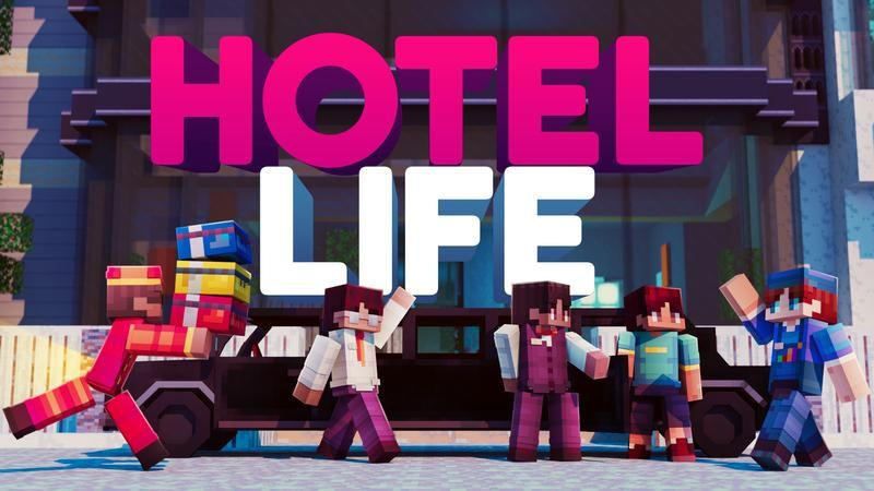 Hotel Life on the Minecraft Marketplace by Cubed Creations