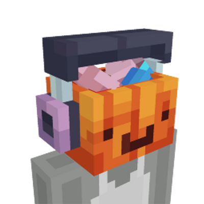 Derpy Pumpkin Head on the Minecraft Marketplace by Entity Builds
