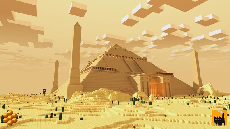 Ultimate Pyramid Base on the Minecraft Marketplace by Block Factory