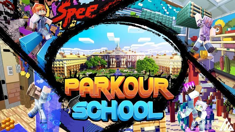 Parkour School on the Minecraft Marketplace by Vertexcubed