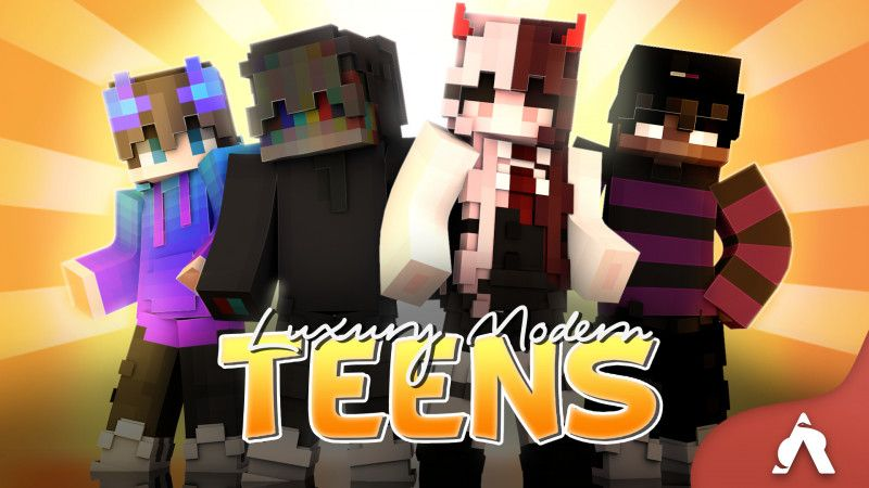 Luxury Modern Teens on the Minecraft Marketplace by Atheris Games