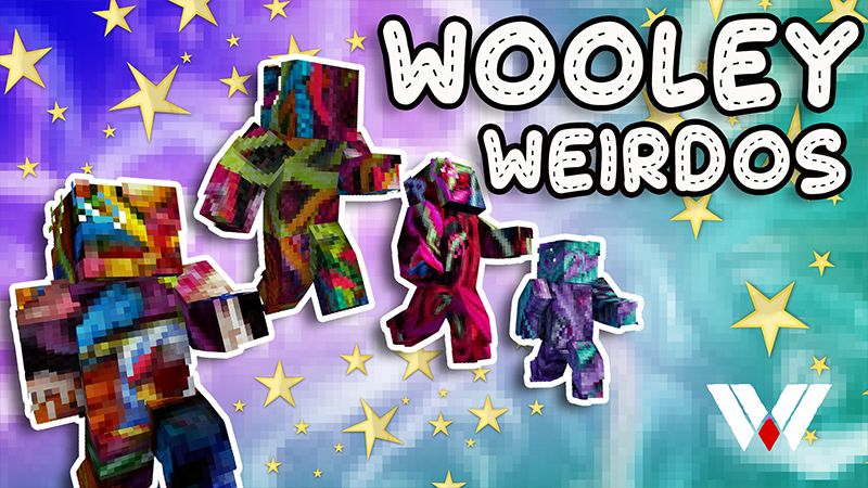 Wooley Weirdos on the Minecraft Marketplace by Wandering Wizards