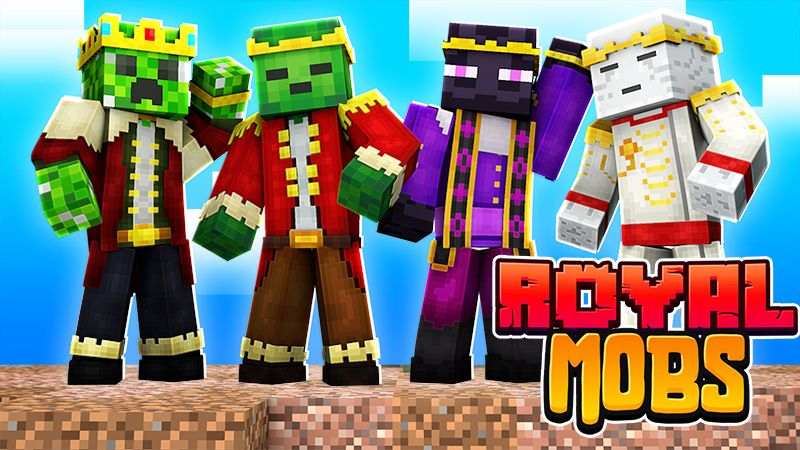 Royal Mobs on the Minecraft Marketplace by The Lucky Petals