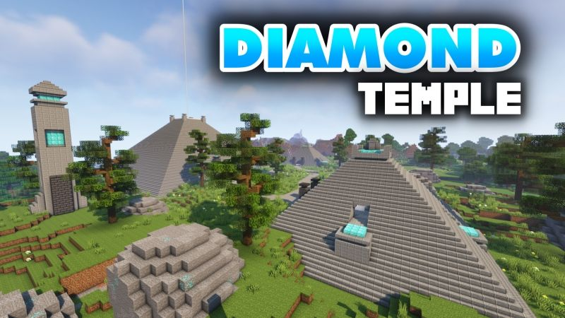 Diamond Temple on the Minecraft Marketplace by Fall Studios