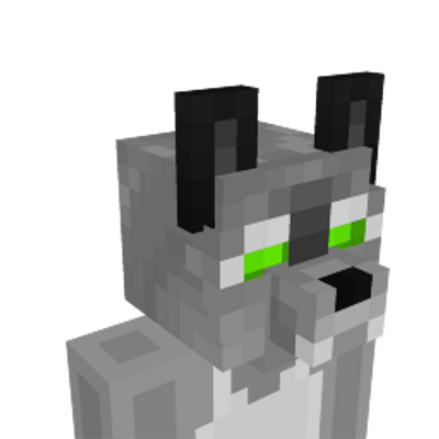 Wolf Mask on the Minecraft Marketplace by Mob Pie