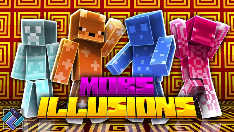 Mob Illusions on the Minecraft Marketplace by PixelOneUp