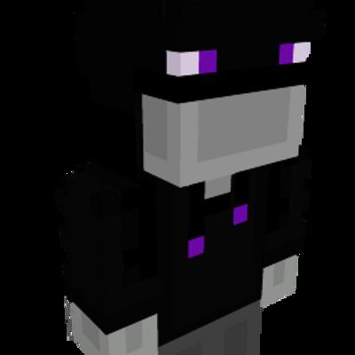 Glowy Enderman Hoodie on the Minecraft Marketplace by Geeky Pixels