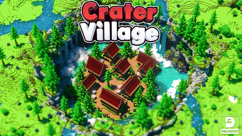 Crater Village on the Minecraft Marketplace by Diluvian