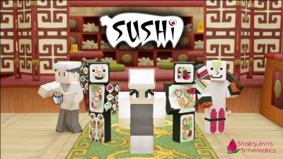 Sushi on the Minecraft Marketplace by Shaliquinn's Schematics