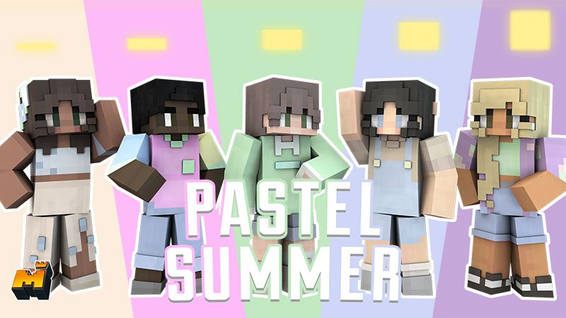 Pastel Summer on the Minecraft Marketplace by Mineplex